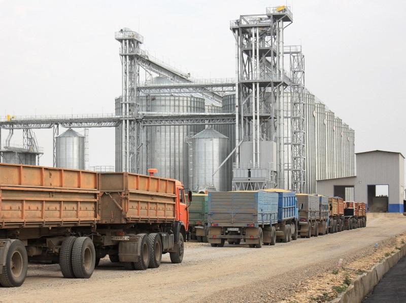 Отправка зерна с элеватора технокон конвейера